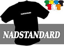 NADSTANDARD (trička s potiskem - tričko volný střih)
