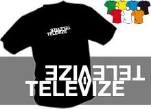 TELEVIZE (trička s potiskem - tričko volný střih)