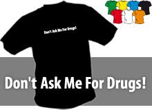 DON´T ASK ME (trička s potiskem - tričko volný střih)