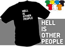 PEKLO (trička s potiskem - tričko volný střih)