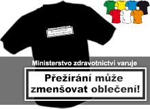 PŘEŽÍRÁNÍ (trička s potiskem - tričko volný střih)