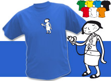 IN OUT GIRL (trička s potiskem - tričko volný střih)
