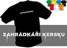 ZAHRÁDKÁŘI (trička s potiskem - tričko volný střih)