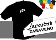 EXEKUCE (trička s potiskem - tričko volný střih)