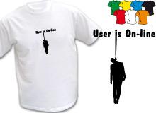 ONLINE (trička s potiskem - tričko volný střih)