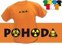 POHODA (trička s potiskem - tričko volný střih)