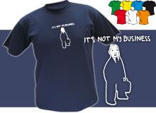 BUSSINES (trička s potiskem - tričko volný střih)