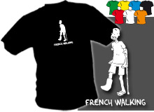 FRENCH (trička s potiskem - tričko volný střih)
