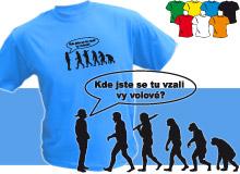 VOLOVÉ (trička s potiskem - tričko volný střih)