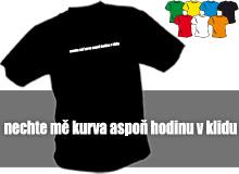 V KLIDU (trička s potiskem - tričko volný střih)
