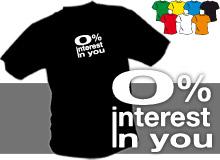 INTEREST (trička s potiskem - tričko volný střih)
