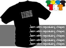 NEPOSLUŠNÝ CHLAPEC (trička s potiskem - tričko volný střih)
