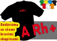KREVNÍ SKUPINY (trička s potiskem - tričko volný střih)