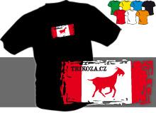 TRIKOZA - FLAG 01 (trička s potiskem - tričko volný střih)