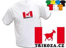 TRIKOZA - FLAG 02 (trička s potiskem - tričko volný střih)