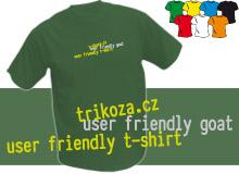 GOAT (trička s potiskem - tričko volný střih)