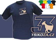 TROJKA (trička s potiskem - tričko volný střih)