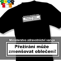 PŘEŽÍRÁNÍ (trička s potiskem - tričko volný střih) - zvětšit obrázek