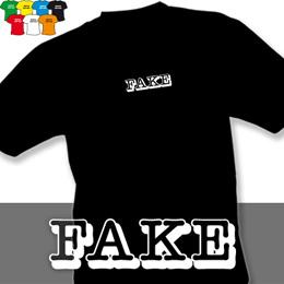 FAKE (trička s potiskem - tričko volný střih) - zvětšit obrázek