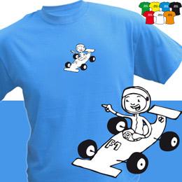 FORMULKA (trička s potiskem - tričko volný střih) - zvětšit obrázek
