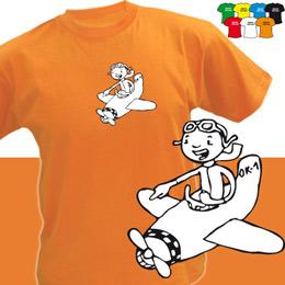 LETADÝLKO (trička s potiskem - tričko volný střih) - zvětšit obrázek