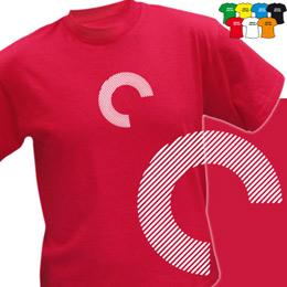 C+  (trička s potiskem - tričko volný střih) - zvětšit obrázek