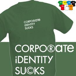 CORPORATE (trička s potiskem - tričko volný střih) - zvětšit obrázek