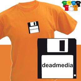 DEADMEDIA D (trička s potiskem - tričko volný střih) - zvětšit obrázek