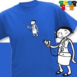 IN OUT GIRL (trička s potiskem - tričko volný střih) - zvětšit obrázek