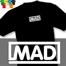 MAD (trička s potiskem - tričko volný střih) - zvětšit obrázek