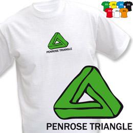 PENROSE TRIANGLE (trička s potiskem - tričko volný střih) - zvětšit obrázek