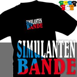 SIMULANTI (trička s potiskem - tričko volný střih) - zvětšit obrázek