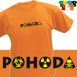 POHODA (trička s potiskem - tričko volný střih) - zvětšit obrázek