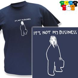 BUSSINES (trička s potiskem - tričko volný střih) - zvětšit obrázek