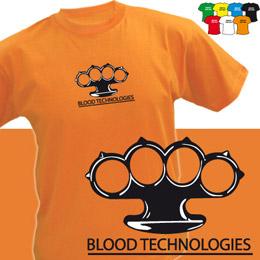 BLOOD (trička s potiskem - tričko volný střih) - zvětšit obrázek