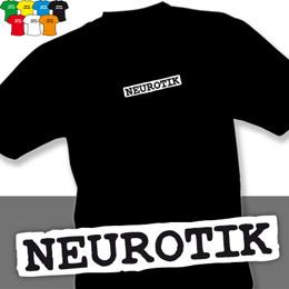 NEUROTIK (trička s potiskem - tričko volný střih) - zvětšit obrázek