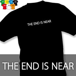 THE END (trička s potiskem - tričko volný střih) - zvětšit obrázek