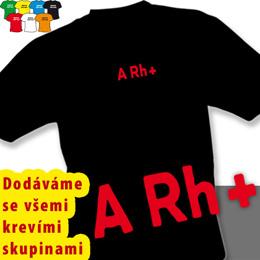 KREVNÍ SKUPINY (trička s potiskem - tričko volný střih) - zvětšit obrázek