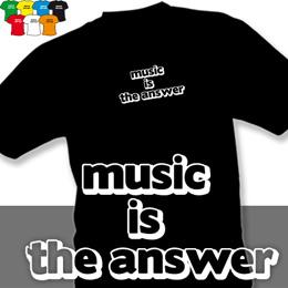 MUSIC (trička s potiskem - tričko volný střih) - zvětšit obrázek