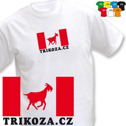 TRIKOZA - FLAG 02 (trička s potiskem - tričko volný střih) - zvětšit obrázek