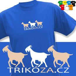 KOZY (trička s potiskem - tričko volný střih) - zvětšit obrázek