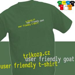 GOAT (trička s potiskem - tričko volný střih) - zvětšit obrázek