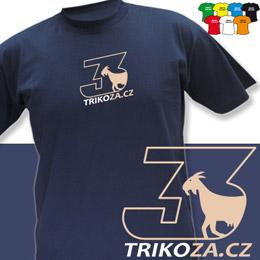 TROJKA (trička s potiskem - tričko volný střih) - zvětšit obrázek